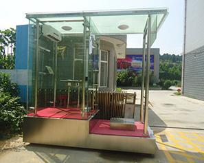 玻璃岗亭06